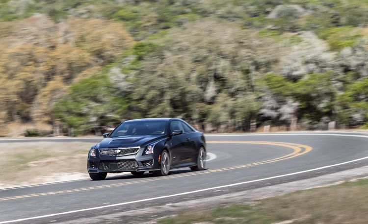 2016 Cadillac ATS-V Coupe – Instrumented Test