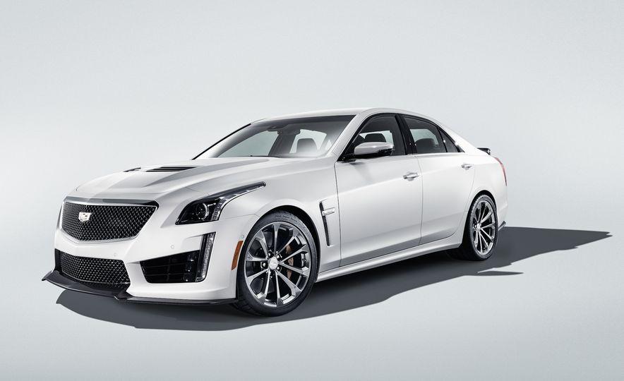2016 Cadillac CTS-V - Slide 1