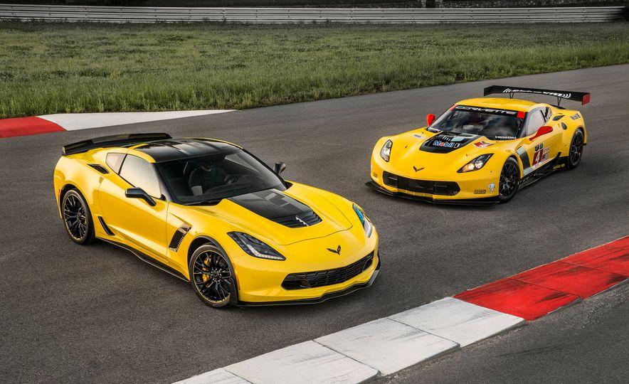 2016 Chevrolet Corvette Z06 C7.R Edition and Chevrolet Corvette C7.R race car - Slide 1