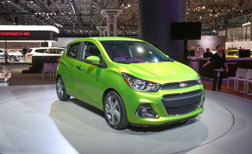 2016 Chevrolet Spark hatchback  Photo Gallery  Car and Driver