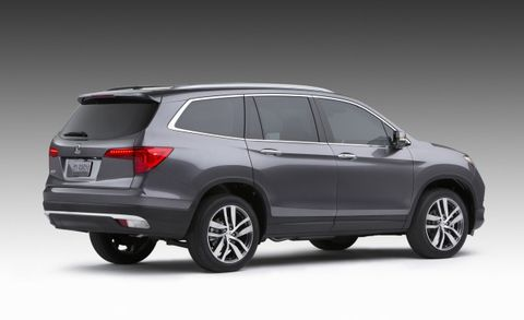 2016 honda pilot trim levels revealed news car and driver. Black Bedroom Furniture Sets. Home Design Ideas