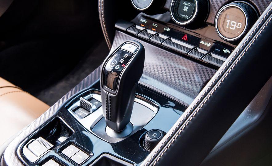 2016 Jaguar F-type R coupe, 2015 Porsche 911 Carrera GTS, and 2016 Mercedes-AMG GT S - Slide 24