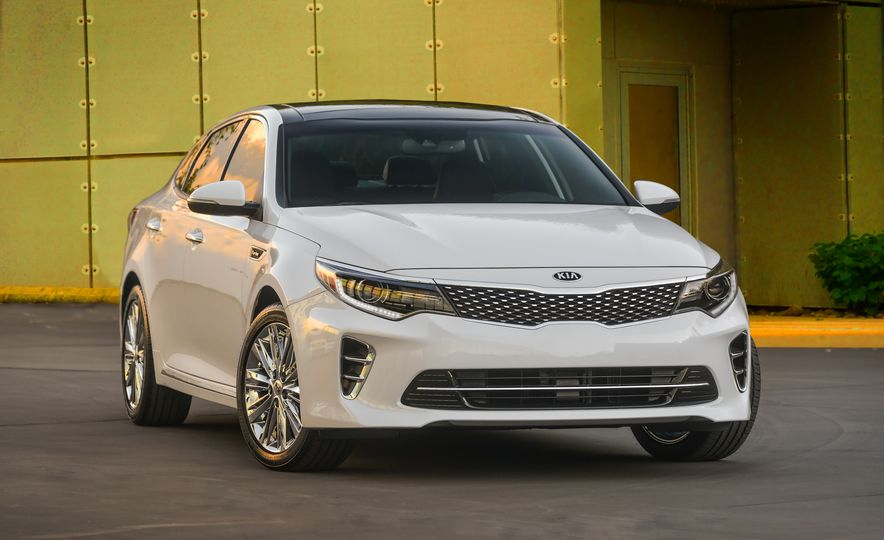 2016 Kia Optima SXL - Slide 1