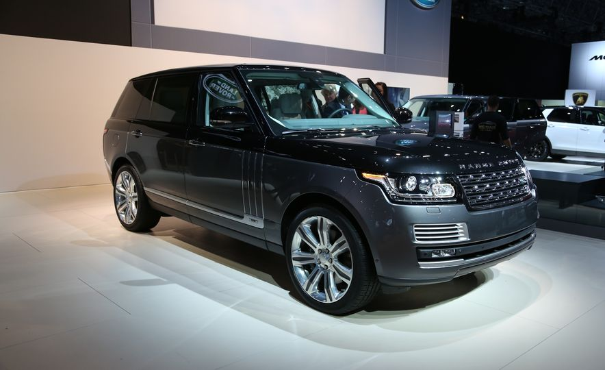 2016 Land Rover Range Rover SVAutobiography - Slide 1