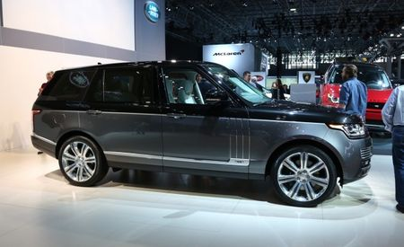 2016 Range Rover Gets Diesel Engine, Tech Upgrades