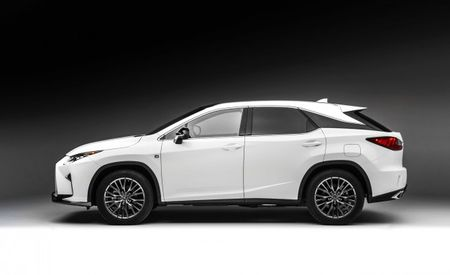 Lexus Considering Adding Third Row of Seats to RX Crossover