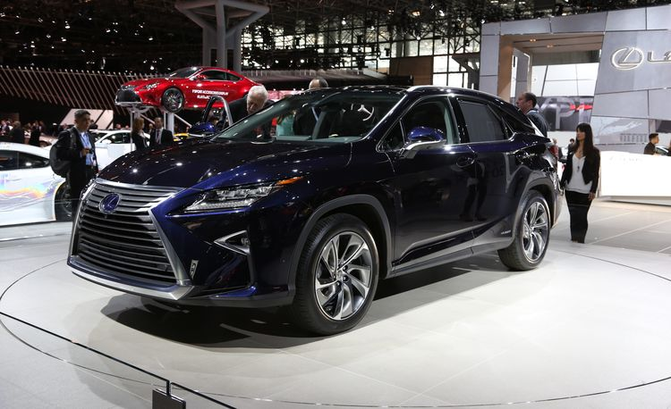 2016 Lexus RX: It's New But It's Not Reimagined – Official Photos and Info