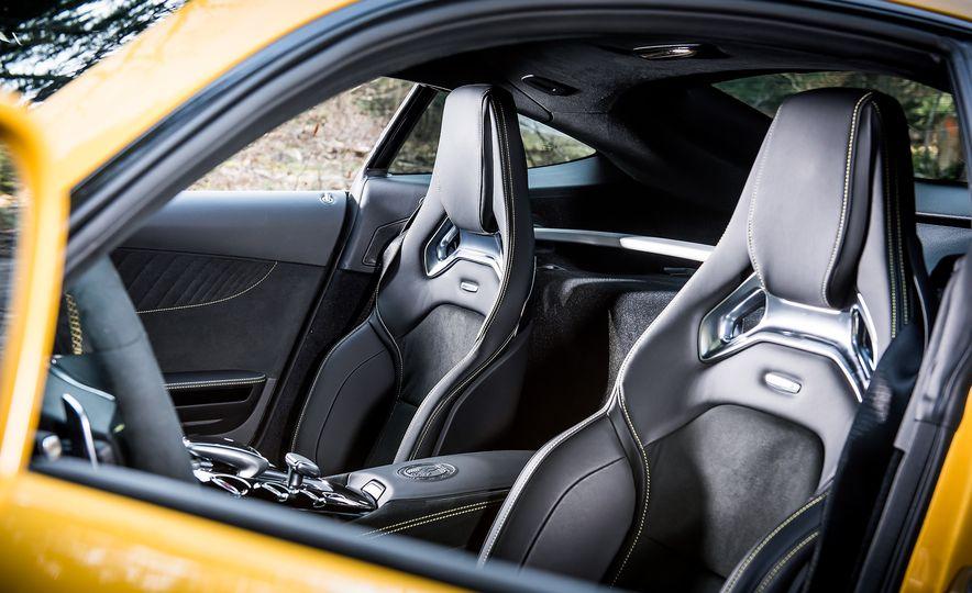 2016 Jaguar F-type R coupe, 2015 Porsche 911 Carrera GTS, and 2016 Mercedes-AMG GT S - Slide 37