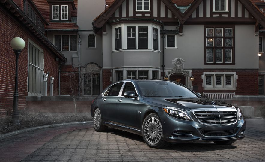 2016 Mercedes-Maybach S600 - Slide 1