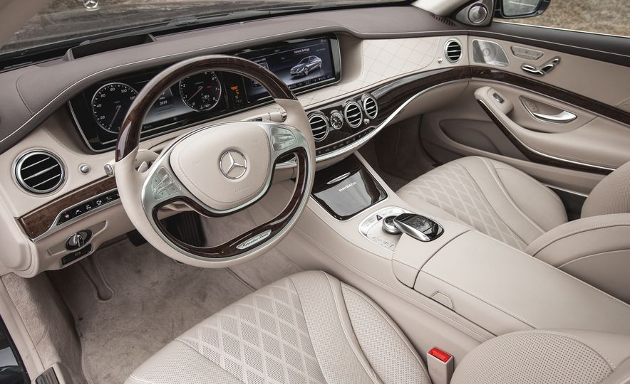 2016 Mercedes-Maybach S600 - Slide 33