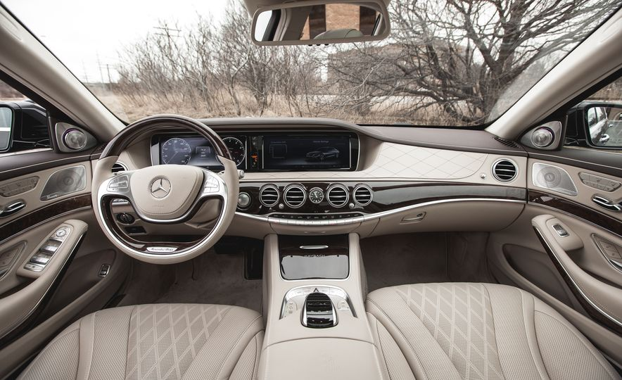 2016 Mercedes-Maybach S600 - Slide 34