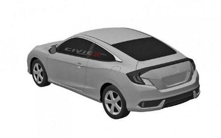 2016 Honda Civic Sedan and Coupe Revealed Via Patent Drawings