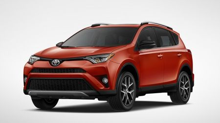 Toyota Adds New, Sporty 2016 RAV4 SE—Orange You Glad?