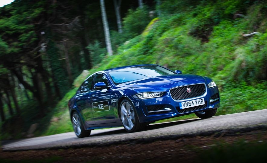 2017 Jaguar XE S Type (Euro-spec) - Slide 45