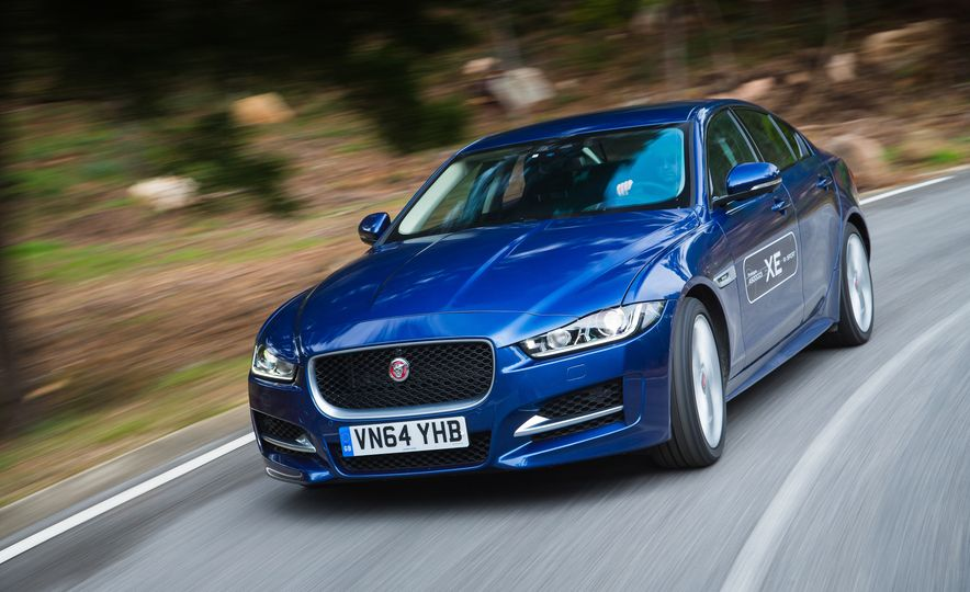 2017 Jaguar XE S Type (Euro-spec) - Slide 47