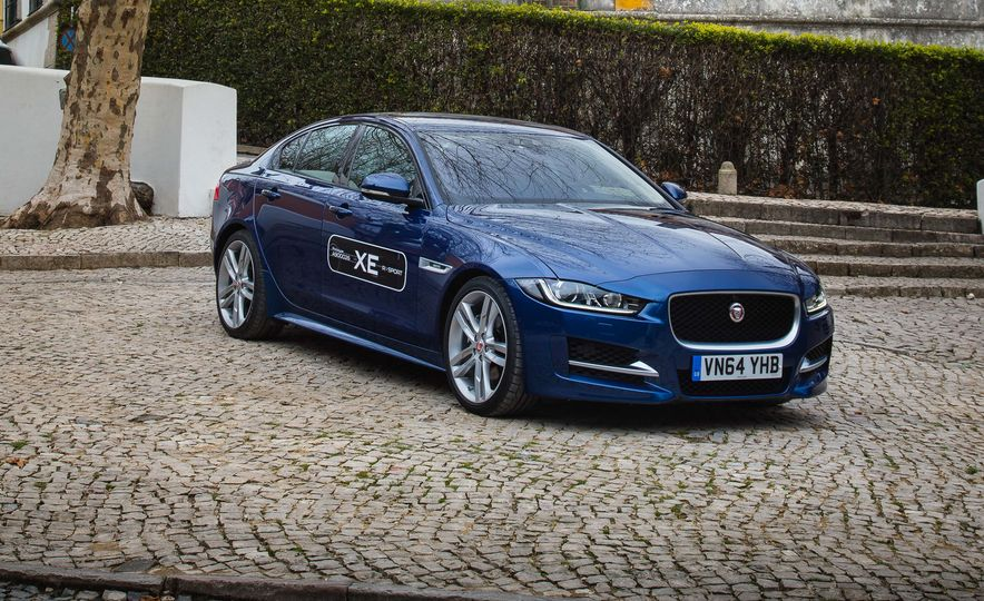 2017 Jaguar XE S Type (Euro-spec) - Slide 58