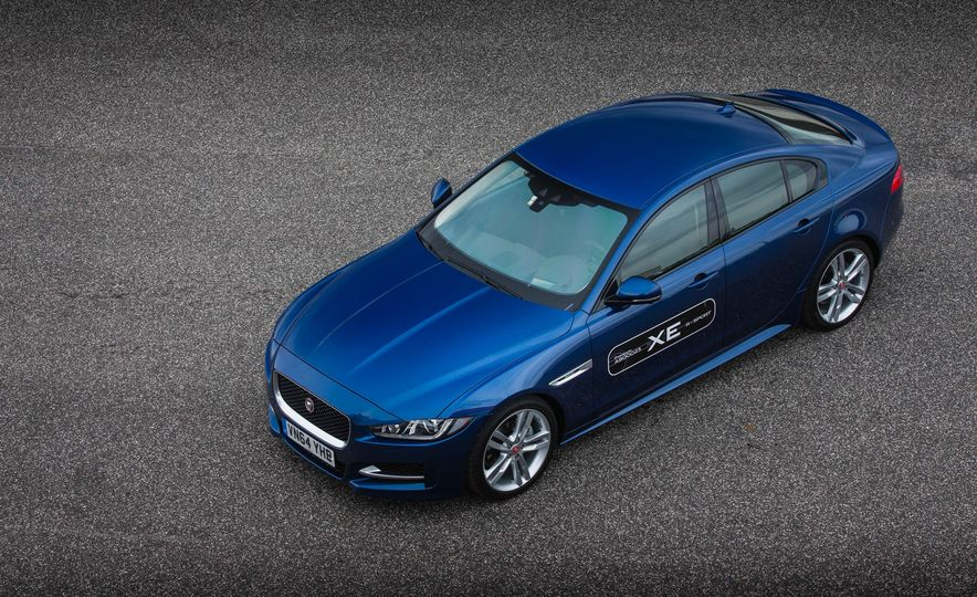 2017 Jaguar XE S Type (Euro-spec) - Slide 59