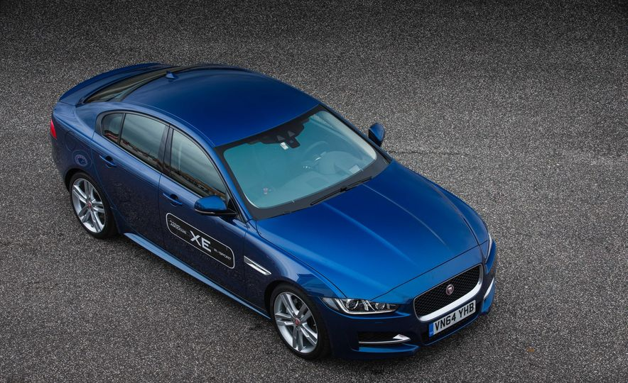 2017 Jaguar XE S Type (Euro-spec) - Slide 60