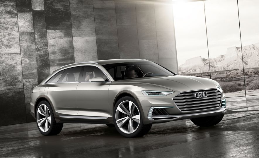 Audi Prologue Allroad concept - Slide 1