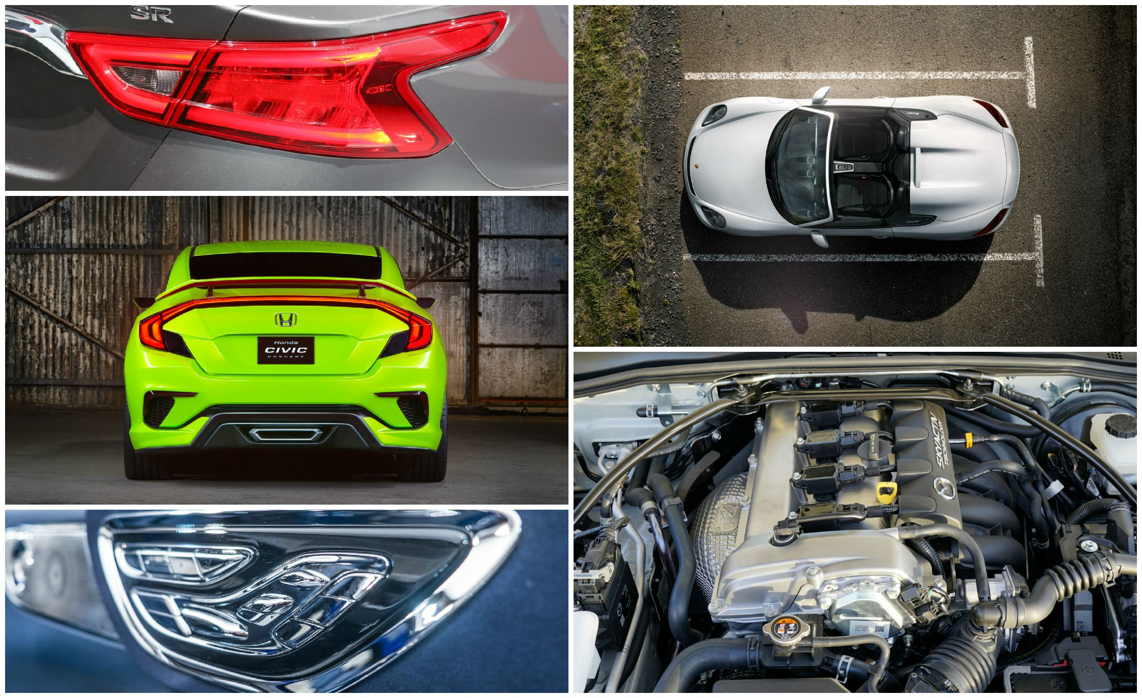The 7 Best Design Details from Cars of the 2015 New York Auto Show