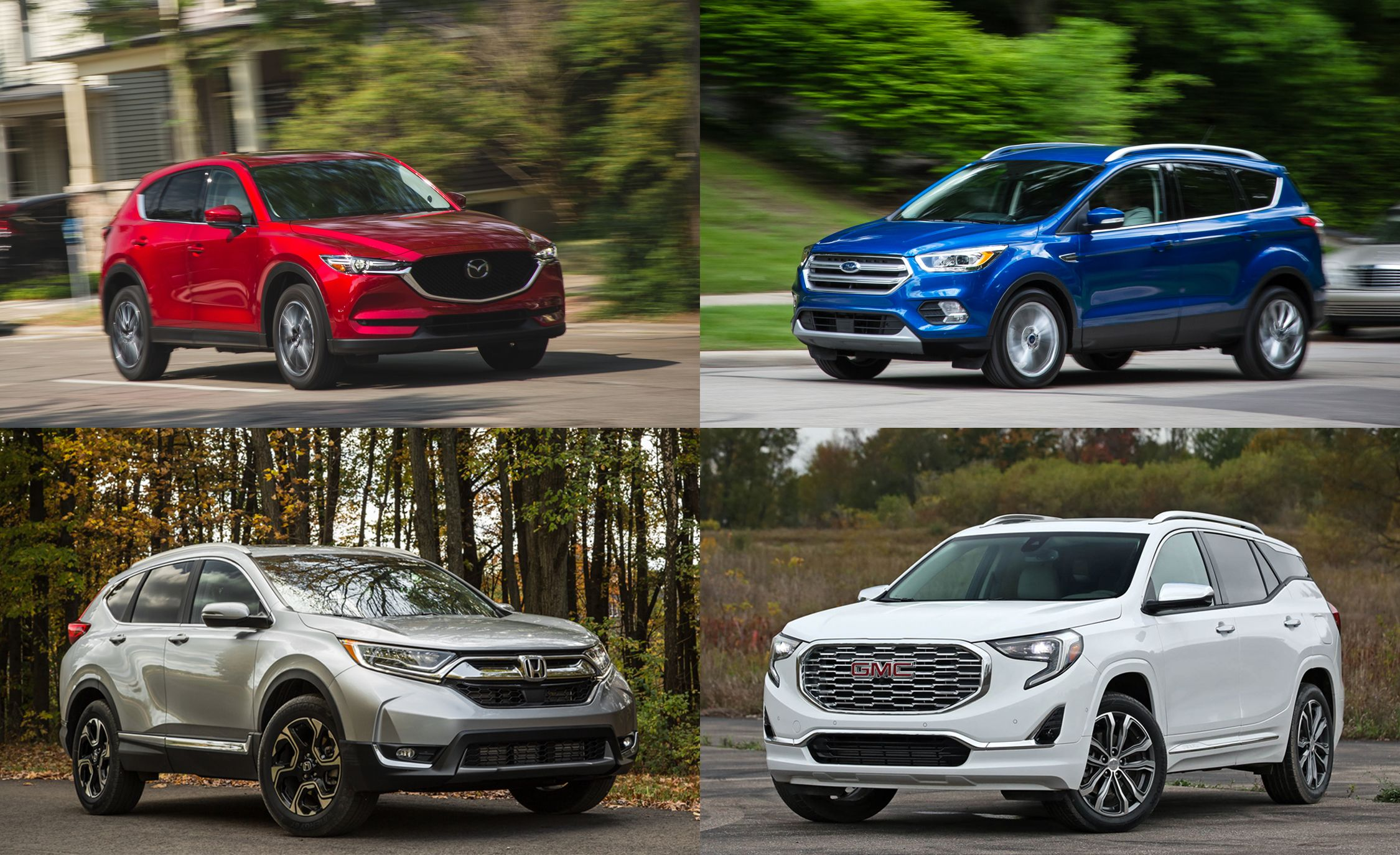 Practicality Matters: Every Compact Crossover SUV Ranked From Worst To Best    Slide 1