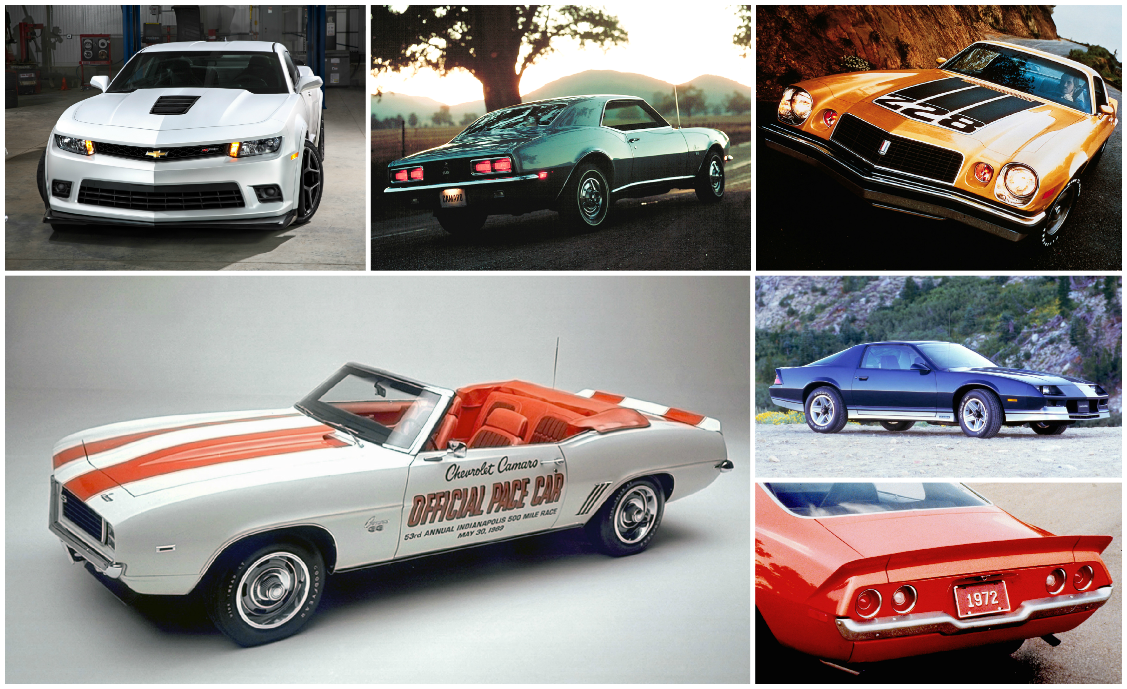 Bitchin Indeed A Visual History Of The Chevrolet Camaro