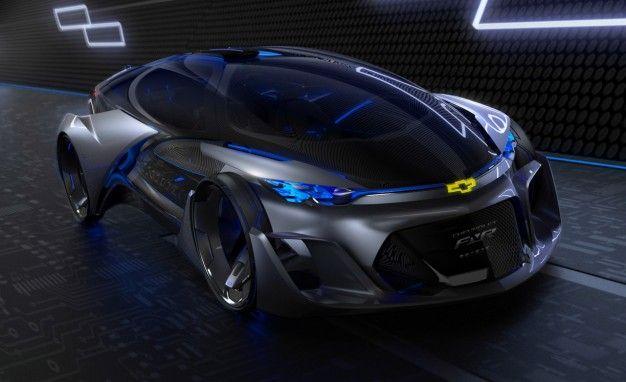 Chevrolet FNR Autonomous Concept Looks Too Good to Be Self-Driving