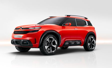 Cactus Cooler: Bitchin' Citroën Aircross Concept Suggests Global Ambitions
