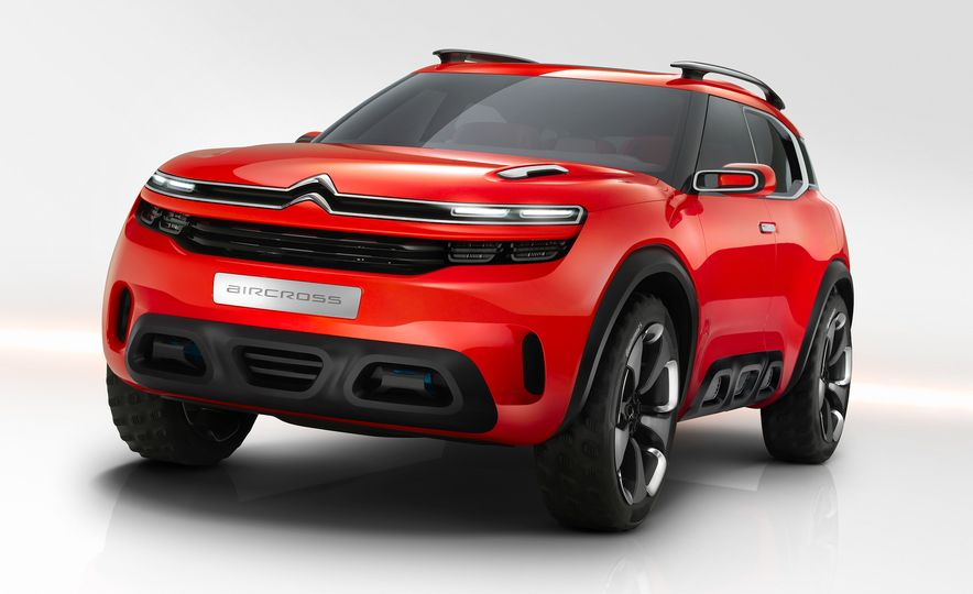 Citroën Aircross concept - Slide 4