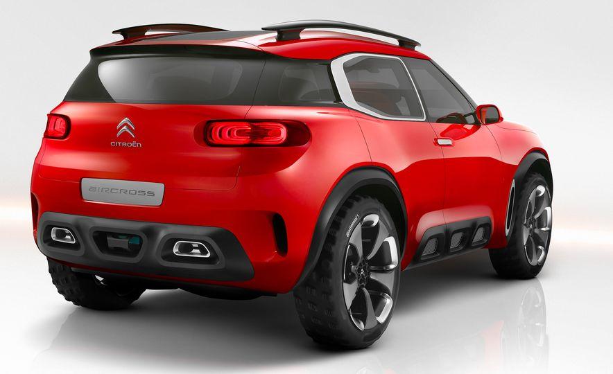 Citroën Aircross concept - Slide 5