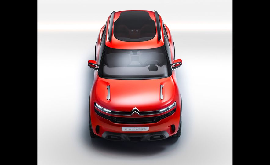 Citroën Aircross concept - Slide 6