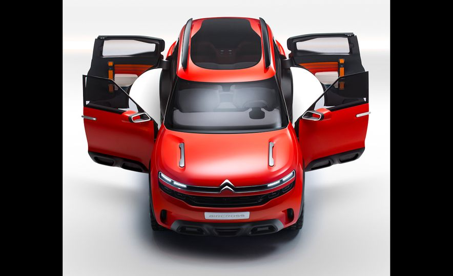 Citroën Aircross concept - Slide 7