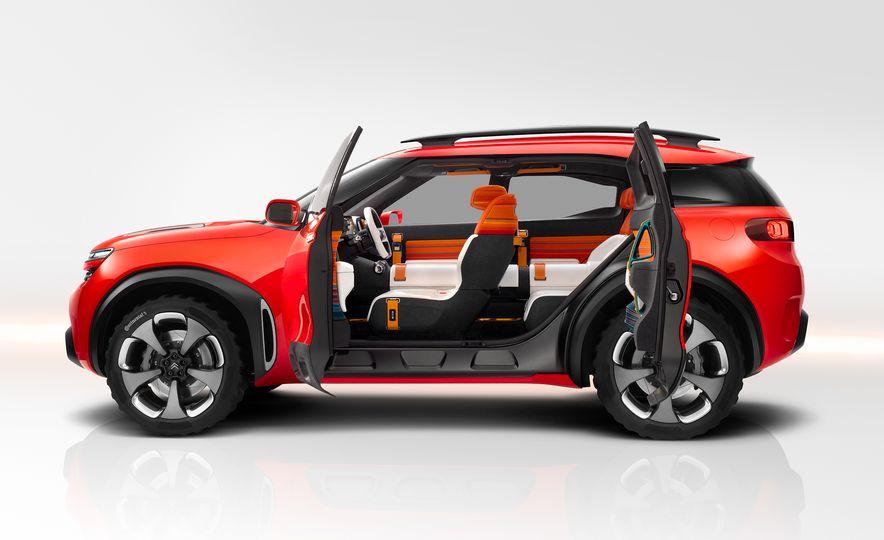 Citroën Aircross concept - Slide 14