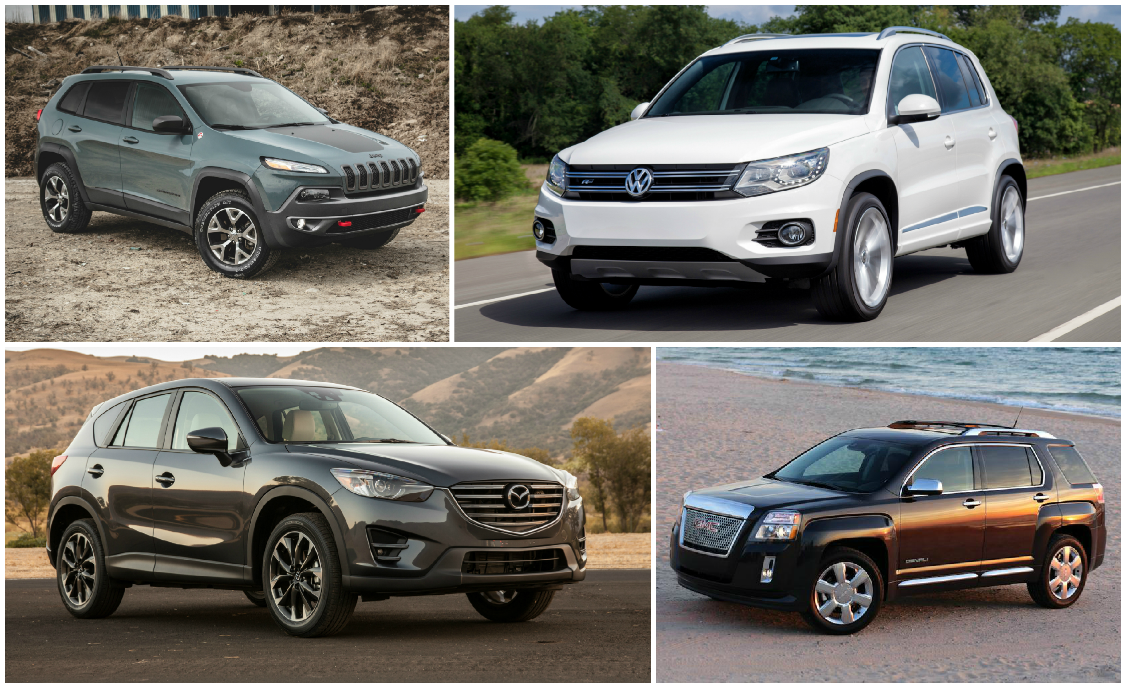 Worksheet. Practical Matters Every Compact Crossover SUV Ranked from Worst