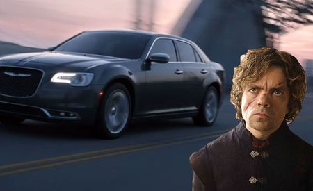 """Game of Thrones"" Star Pitches Chryslers to America's Royalty"