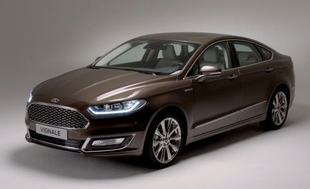 High-Falutin' Ford Mondeo Vignale Unveiled, Could It Preview MKZ–Cannibalizing Fusion Variant?