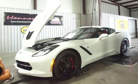 Hennessey Supercharged Corvette Puts out 847 HP at the Wheels [w/ Video]