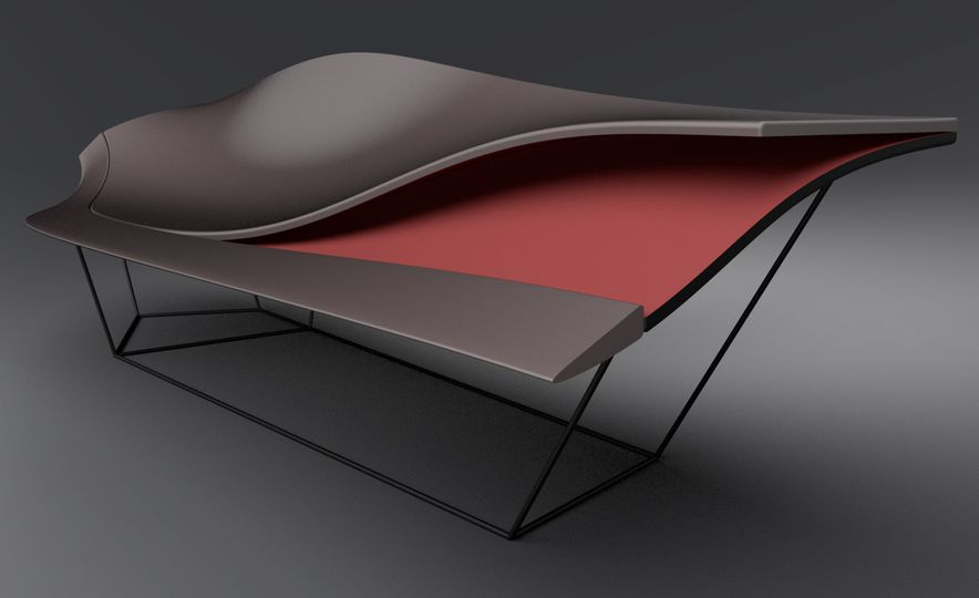 Inspired by Ford GT: Chair - Slide 4