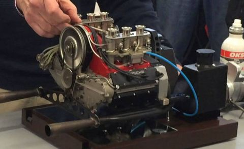 This Functional, 1:3-Scale Porsche Flat-Six Engine Sounds Amazing