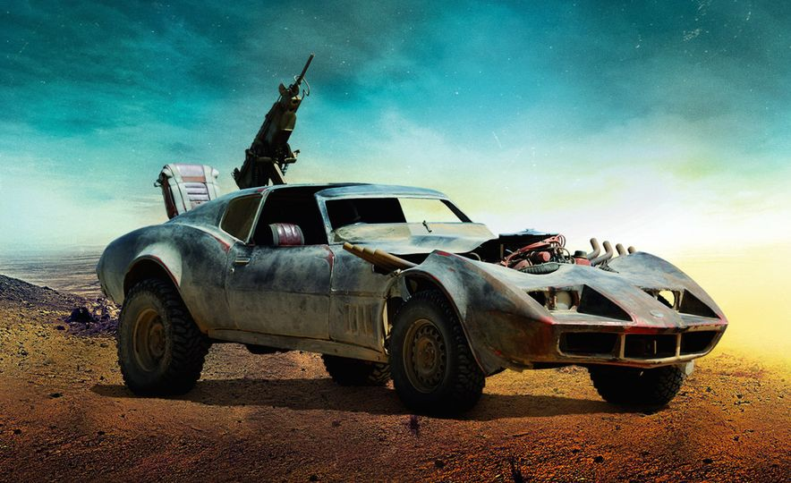 "EXCLUSIVE First Look: The Cars of ""Mad Max: Fury Road"" 