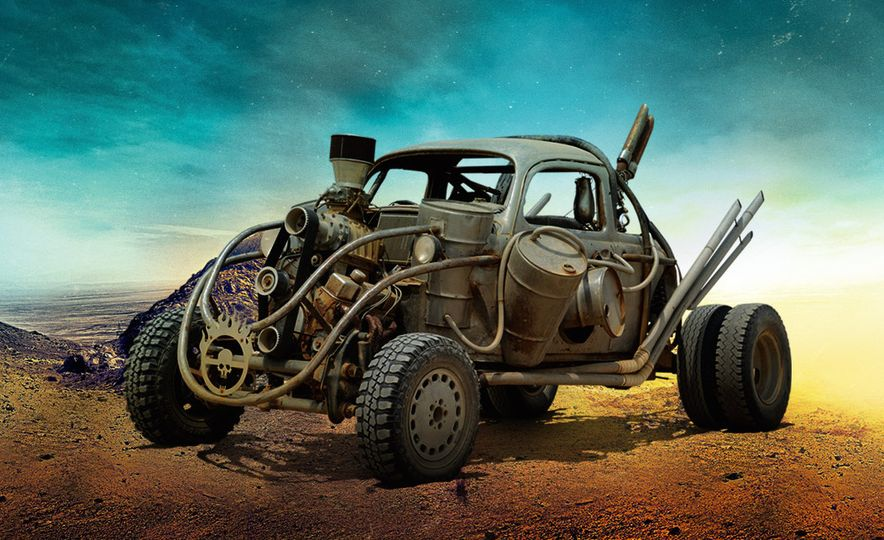 The Cars of Mad Max: Fury Road - Slide 7