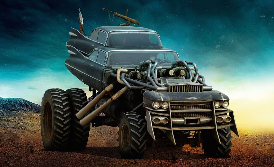 The Cars of Mad Max: Fury Road - Slide 10