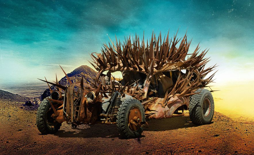 The Cars of Mad Max: Fury Road - Slide 2