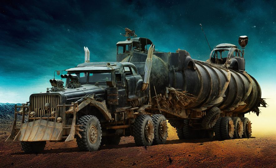 The Cars of Mad Max: Fury Road - Slide 8