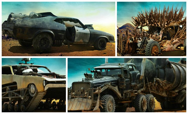 "EXCLUSIVE First Look: The Cars of ""Mad Max: Fury Road"""