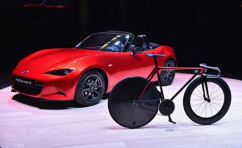 Laziness Tempered Mazda Designs A Sofa And A Bike The Answer