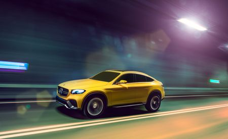 """Mercedes-Benz Concept GLC Coupe: It's a """"Coupe"""" Version of the GLK Replacement – Auto Shows"""