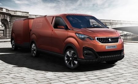 Peugeot Creates the Frenchest (Read: Weirdest) Food Truck Ever