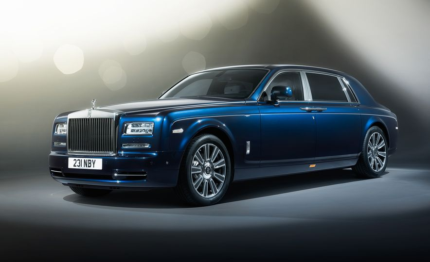Rolls-Royce Phantom Limelight Edition - Slide 1
