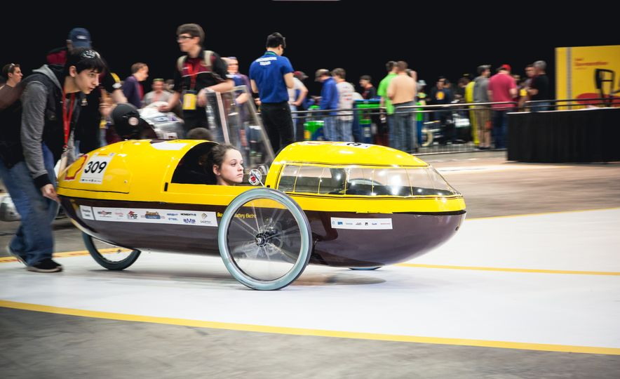 Shell Eco-Marathon: Cars Like You Wouldn't Believe—Or Fit In - Slide 8